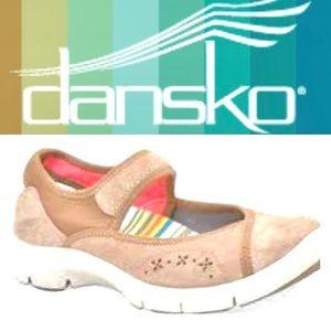 Dansko Emmy Leather Maryjanes Size 38/7.5-8